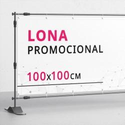 Lona 100x100 cms