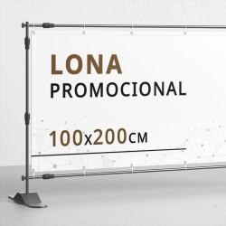 Lona 100x200 cms