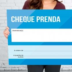 Mega Cheque Prenda