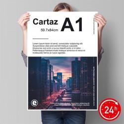 Cartazes A1 (59.4x84cm)