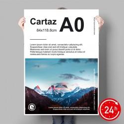 Cartazes A0 (84x118,8cm)